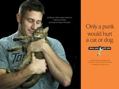 "Boyer was also included in the anti-animal abuse campaign, ""Show Your Soft Side,"" which features ""acknowledged hard men"" being kind to animals. 