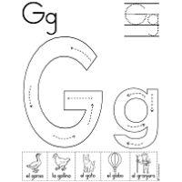 pin by kasey miller davis on g letter g activities alphabet worksheets preschool letters. Black Bedroom Furniture Sets. Home Design Ideas
