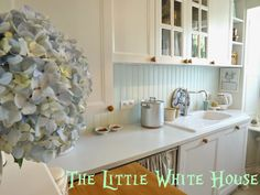 The Little White House On The Seaside: Caution! Wet Paint!