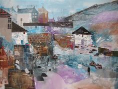 British art gallery for modern British paintings limited edition prints and contemporary art by leading contemporary British artists - Red Rag British Art Gallery. Port Isaac, Colorful Artwork, Limited Edition Prints, Painting Inspiration, Framed Art, Folk Art, Bing Images, Contemporary Art, Abstract Art