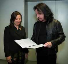 "While in Hungary, Yanni was presented with the the Ambassador's Award for Cultural Diplomacy by the US Ambassador, Eleni Tsakopoulos Kounalakis.  and named him an ""Ambassador to the World."" A very well deserved award and I admire Yanni for creating a tour that carries with it a harmonious tone and message of unity."