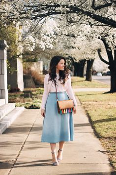 Spring Outfit Inspiration on by @courtneytoliver on @sheintentional with items from F21, H&M, Steve Madden and Rebecca Minkoff.