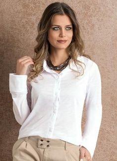 Camisa Videira (Branca)