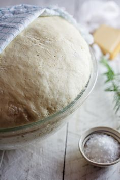 [ Recipe: Potato, Pecorino & Rosemary Bread ] Using potatoes, yeast, sugar, butter, olive oil, sugar, eggs, slat, chopped rosemary, Pecorino, and flour. ~ from Simply-Delicious.co.za