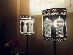Lámparas árabes #reciclaje #decoracion #latas