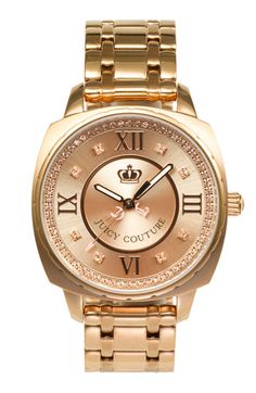 Juicy Couture 'Beau' Bracelet Watch available at #Nordstrom