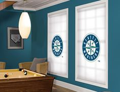 Seattle Mariners MLB® Roller Shade. Every MLB® Team Available!
