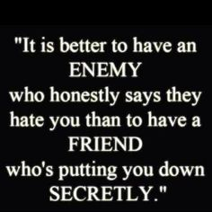 Keep Your Friends Close Enemies Closer Quotes