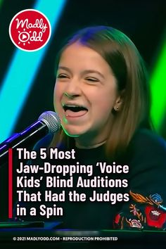 """The judges might not have been able to see these young phenoms audition, but they were definitely seeing stars when they heard their blind auditions. Across the world, kids finally have their chance to impress with nothing but their singing on """"The Voice Kids."""" #TheVoice #singing #kids #music Kids Music, Good Music, Voice Auditions, The Voice Of Holland, Nbc Tv, Blake Shelton, Talent Show, Kelly Clarkson, John Legend"""