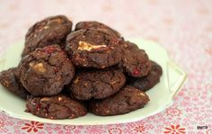Raspberry Choc Chunk Cookies by Baking Makes Things Better