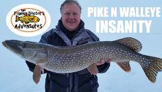 Best Northern Pike and Walleye Ice Fishing Ever #northernpike #walleye #fishing #amazing #alberta #canada #best #lenthompson #slenderspoon