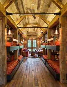 Home Interior Design — Northern Wisconsin Bunk House (686×887)