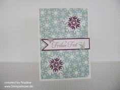 Weihnachtskarte, Christmas Card, Stampin Up 011
