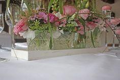 Centerpiece in pink - Mr & Mrs - kleine Hochzeit zu Zweit in…