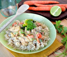 Green Thai Chicken Coconut Curry