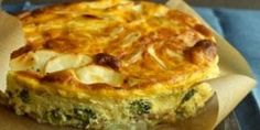 Ham and potatoes, breakfast favorites, are baked into this crustless quiche recipe with broccoli and cheese for a morning dish that can be served hot, cold, or at room temperature. Quiche Recipes, Broccoli Recipes, Potato Recipes, Brunch Recipes, Casserole Recipes, Breakfast Recipes, Dinner Side Dishes, Brunch Dishes, Main Dishes