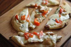 Olive Garden Grilled Chicken Flatbread