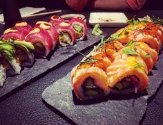 #sticksandsushi #canarywharf #crossrail #sushi #sushitime #sashimi #nigiri #cocktails #salmon #avocado #saturdaynight #saturday #londonlife #london #eastlondon #nightout #weekend #picoftheday #instamoment #instafood #foodie #instagood by alexandre.kohli