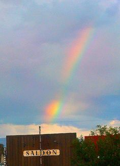 The pot of gold at the end of the rainbow is in the Saloon in Kalispell, Montana