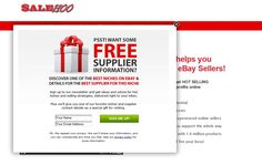 """Get full access to SaleHoo's directory of legitimate, trusted suppliers 60-day money-back guarantee"" http://www.ssalehoo.com/"