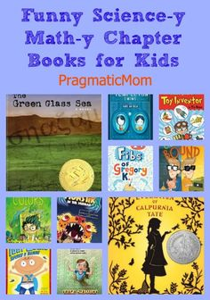Funny Science-y Math-y Chapter Books for kids ages 7 and up :: PragmaticMom