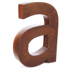 Would you like to buy a vowel? Rustic metal letters allow you to spell whatever you like -- each letter sold separately. Each is about 2 inches deep allowing for easy hanging. Metal Wall Letters, Diy Letters, Letter Wall, Letters And Numbers, Marquee Letters, Painted Letters, Rusty Metal, Vintage Iron, Industrial Chic