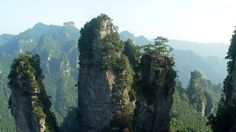 Tianzi mountains, China wallpaper 1920x1080