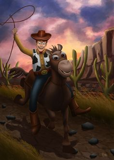 Yeaayy Woody.. I was trying to make an illustration that combining toy material with real illustration :)
