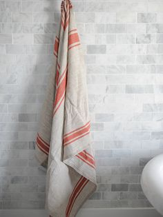 Sustainable linen clothing and home textiles Luxurious natural accessories for home and fashion in linen and baby alpaca Natural Accessories, Fashion Accessories, Bath Sheets, Baby Alpaca, Striped Linen, Natural Red, Red Stripes, Home Textile, Textiles