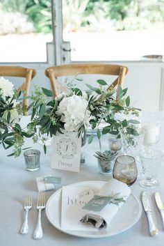 Wedding table decoration - Embark on the Domaine de Blanche Fleur to see the photos of our third Wedding Favours, Wedding Bouquets, Wedding Flowers, Wedding Invitations, Bridal Shower Decorations, Reception Decorations, Table Decorations, French Wedding, Dream Wedding