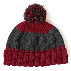 Dad's Knit Hat Pattern