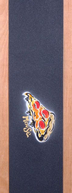 Mouse Slice Hand Sprayed Grip Tape