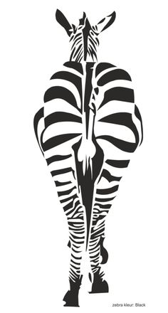 amazing animal (Zebra) graphic flat b&w drawing Stencil Patterns, Stencil Art, Animal Stencil, Lion Sketch, Sunflowers And Daisies, Animal Graphic, Fabric Stamping, Black And White Painting, Drawing Reference Poses