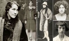 Drug dealers, backstreet abortionists and a deadly femme fatale: Fascinating mugshots of women prisoners from 1920s Australia #DailyMail