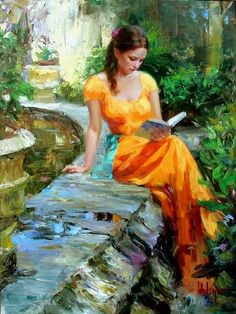 Just one more beautiful Vladimir Volegov painting -- check the rest out yourself! So many great ones.