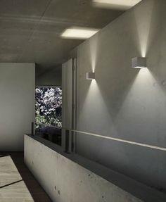 Garden wall light - DRACO - PANZERI