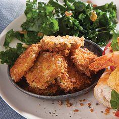 Baked Pickle Chips Recipe | MyRecipes.com Mobile