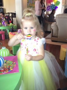 Avery, the birthday girl.