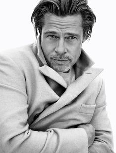 Brad Pitt Brioni Fall 2020 Campaign | The Fashionisto Thelma Y Louise, Brad Pitt Photos, The Fashionisto, Classic Image, Black N White Images, Hollywood Actor, Hollywood Life, Brand Ambassador, Advertising Campaign