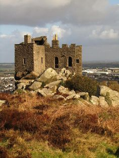 Carn Brea, a middle Eastern restaurant in a 14th century castle, Cornwall, UK