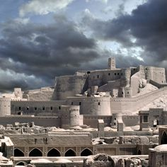 The ancient city of Arg a Bahm. Iran Opening World of Bold Architecture - 3.jpg