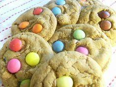 smartie cookies - one of my daughter's favourites ....