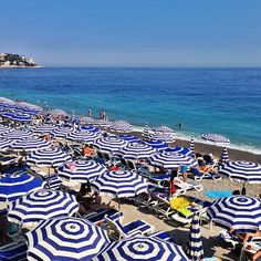 nice, france. Beach in front of old town. My fav!