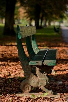 Many an afternoon spent on these benches at Parc de la Colmbiere