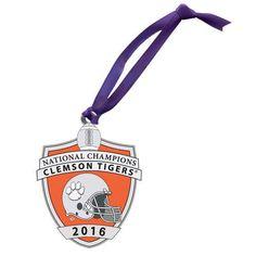 Clemson National Championship 2016 Ornament