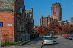 Toxteth Library, Windsor Street and Liverpool Anglican Cathedral