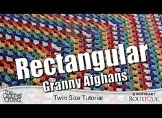 [Free Pattern] Rectangle Granny Square Blanket- Patterns For All Sizes Of Afghans