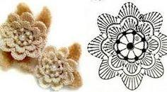 Image result for graficos de croche flor