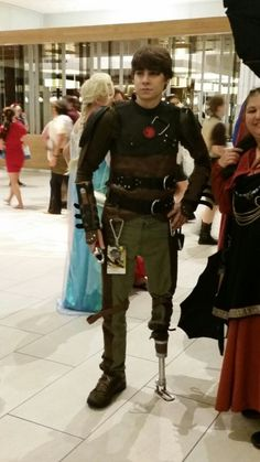 rainbowrites:  spacethefinalfuck:  thebigfour-ahojako:  satan-chan:  Incredible cosplay  I think that he took cosplay a little bit too far.  he saw his chance and he took it  DISABLED PEOPLE COSPLAYING DISABLED CHARACTERS SO HAPPY  He just looks really, really, really awesome as Hickup. He's really handsome too or is that just me? Anyway? Absolutely AWESOME! Once again a proof that COSPLAY IS FOR EVERYONE.