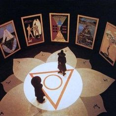 The Holy Mountain, Alejandro Jodorowsky- Jodorowsky is one of the most famous surrealist filmmakers alive: his style is really vibrant and the images really strong. Cinema Art, The Holy Mountain, Tarot, Film Inspiration, Film Stills, Archetypes, Poster, Graphic, Short Film